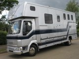 2005 DAF LF Coach built by Hanbury Horseboxes, Stalled for 3 with smart  luxury living