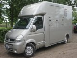 2007 Renault Master  3.9 ton J.P Long stall. New Build. Stalled for 2 rear facing.. Large rear door model