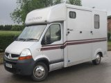2010 Renault Master Moorhouse long stall model. Stalled for 2 rear facing. 150 BHP chassis model