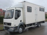2004 DAF LF Professional McGarry Horseboxes conversion. Stalled for 3 with smart living