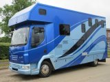 2009 DAF LF Coach built by Solitaire horseboxes. Stalled for 3 with smart luxurious living..