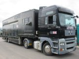 2005 MAN TGA Tractor unit with Trailer. Stalled for 5 with Huge living.. Ideal carriage driving truck.