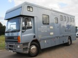 DAF 65 240 Coach built by Castle Horseboxes. Stalled for 5 with smart luxury living.... Full tilt cab