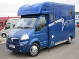 2006 Vauxhall Movano Coach built by East Yorkshire Horseboxes. Stalled for 2 rear facing. Stallion stall style