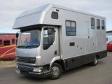 2013 62 DAF LF Coach built by Prestige Horseboxes. Stalled for 3 with smart luxury living. Full tilt cab