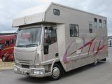 2005 Iveco Eurocargo Coach built by Solitaire horseboxes. Stalled for 3 with luxury living..