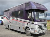 2004 53 Iveco Eurocargo Coach built by KM Horseboxes. Stalled for 3 with smart luxury living