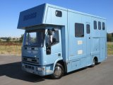 2003 Iveco Eurocargo Coach built by My Horseboxes. Stalled for 3 with smart luxury living.. Full tilt cab