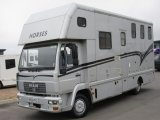 2004 53 MAN Coach built by ABI Horseboxes. Stalled for 3 with smart living... Full tilt
