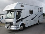 2008 DAF LF Coach built by Elite horseboxes. Stalled for 3 with smart luxury living