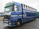 Mercedes Benz Actros Mega Cab. 26 ton 3 axle. Stalled for 11. Professional transport truck..