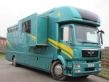 2010 MAN 18 TON Automatic. Coach built by JC Horseboxes. Stalled for 5 with luxury luxury.. Sleeps 6 with large slide out