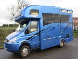 2012 61 Iveco Daily 6.5 Ton Coach built by Equihunter. Auvergne Model. Stalled for 2 forward facing with smart changing area...