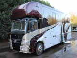 2011 Mercedes Benz Atego 13.5 ton Brand New Build by FVM Horseboxes. Stalled for 4. Large luxury living.. 6 berth