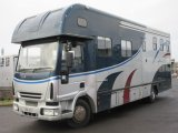2006 12 ton Iveco Eurocargo Coach built by Elite Horseboxes. Stalled for 4 with full large luxury living..