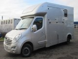 2016 Vauxhall Movano Select Long stall Model. Stalled for 2 rear facing. NEW BUILD