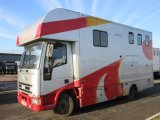 2001 Iveco Eurocargo Coach built by Pennine Horseboxes. Stalled for 3 with smart living