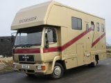 2000 MAN 8163 Coach built by Sovereign. Stalled for 3 with smart luxury living..