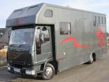 2004 Iveco Eurocargo 75E17 Coach built by PRB. Stalled for 3 with smart luxury living