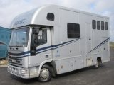 2003 52 Iveco Eurocargo Tector coach built by AAquine horseboxes. Stalled for 3 with smart luxury living