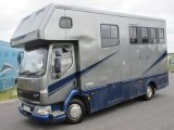 2001 DAF LF Coach built by Chadwick horseboxes. Stalled for 3 with smart luxury living