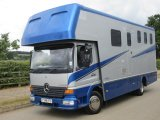2001 Mercedes Benz Atego Coach Built by Highbury horseboxes. Stalled for 3 with smart living..