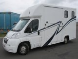 2007 Citroen Relay 3.5 ton Coach built horsebox. Stalled for 2 rear facing. Long Stall edition..