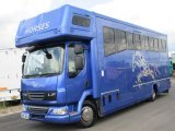 *** DEPOSIT TAKEN *** 2007 DAF LF 12 Ton  Coach built by Prestige Horseboxes. Stalled for 4 with smart luxury living.. Beautiful Horsebox