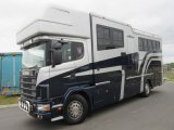 2002 Scania Coach Built by FVM Horseboxes. Stalled for 5 with smart luxurious living.. Huge spec... Sleeps 5