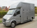 2009 Vauxhall Movano 3.5 Ton  J.P Long stall ,Stalled for 2 horses rear facing.
