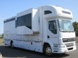 2006 14 Ton DAF LF Coach built by Whittaker. Stalled for 4. Luxury living with large slide out. Sleeping for 6. Only 26,251 Miles from new!