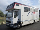 2004 DAF LF 150 Coach built by McGary Coach builders. Stalled for 3 with smart luxury living. Full tilt cab. Very Smart Horsebox