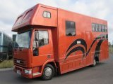 Iveco Eurocargo Coach built by Smart Horseboxes. Stalled for 3 with smart living. Full tilt cab