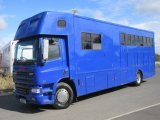 2002 18 Ton DAF CF65 220 Coach built by Aaquine horseboxes. Stalled for 5 with full smart luxury living..