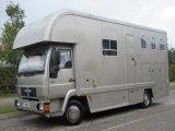 MAN 8163 Coach built by West Yorkshire horseboxes. Stalled for 3 with full smart living. Mot Sept 2021