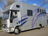 Iveco Eurocargo 75E15 Coach built by McNeil horseboxes. Stalled for 3 with smart living. Mot November 2021