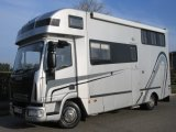 2005 Iveco Eurocargo 75E17 7.5 Ton Coach built by George Smith horseboxes. Stalled for 3 with smart luxury living..