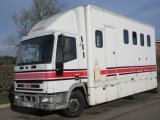 1998 Iveco Eurocargo 75E15 Professional conversion by Oaktree horseboxes. Stalled fro 3 with smart living.. MOT November 2021