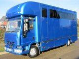 2005 Model 54 10 Ton Iveco Eurocargo Coach built by Emsley-Metcalfe coach builders. Stalled for 6  with smart changing area. Very smart transport truck.