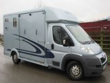 2008 Model Peugeot Equi-trek supersonic 4005 kg. Stalled for 2 rear facing.. Only 24,546 Miles from new!  Huge payload!