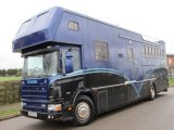 Scania 310 17 Ton Coach built by JJ woods Coach builders. Stalled for 6 with large luxury living. Sleeping for 6 people. Huge amount of locker storage space.. VERY SMART HGV.