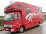 2006 Model 55 8.6 Ton Mercedes Benz Atego Coach built by McPhie horseboxes. Stalled for 3 with smart luxury living...