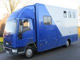 2001 Iveco Eurocargo 75E17 Professional Elite conversion. Stalled for 3 with smart day living.. Large external tack which intrudes into the living area not the horse area