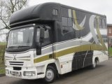 2006 Iveco Eurocargo 75E17 Coach built by Elite horseboxes Stalled for 3 with smart spacious luxury living.. Very smart 7.5 ton Horsebox.
