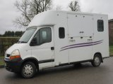 2006 55 Renault crew cab 3.5 ton Coach built by Theault horseboxes. Stalled for 2 rear facing.. Horsebox from new!