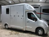 2016 Vauxhall Movano 3.5 ton Brand new Select Pro Build. Stalled for 2 rear facing.. Full stallion partition..