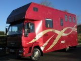 2005 54 MAN 7.5 Ton Coach built by Solitaire. 3 stall with full luxury living.. Beautiful condition throughout.. Well maintained and looked after horsebox