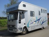 2001 Iveco Eurocargo 75E17 Coach built by Solitaire. Stalled for 3 with smart luxury living.. sleeping for 4.. Very Low mileage 46,139 Miles