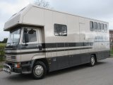 Beautiful 12 Ton DAF FA 55 180 Coach built by PRB Coach builders. Stalled for 4 with smart living, sleeping for 4, VERY SMART HORSEBOX
