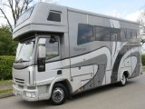 2009 58 Iveco Eurocargo Coach built by Equicruiser. Stalled for 3 with smart luxury. Sleeping for 5.. Full tilt cab, Horsebox from new!